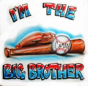 Airbrush big brother shirt