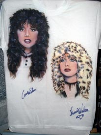 Heart autographed airbrush t-shirt