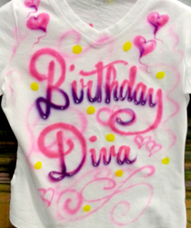 birthday diva shirt