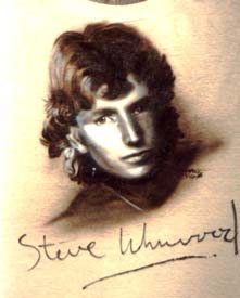 Steve Winwood autographed airbrush t-shirt