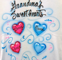 Mother's Day airbrush shirt