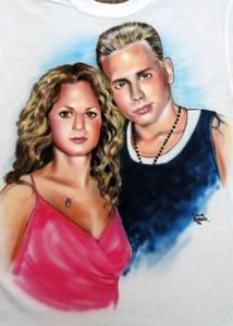 airbrush group portrait