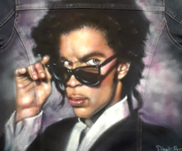airbrush portrait