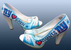 airbrush shoes high heels